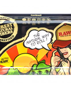 Raw 'Brazil Girl' Rolling Tray