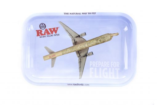 Raw Small Prepare for Flight Rolling Tray