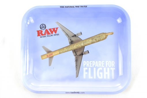 Raw Medium Prepare For Flight Rolling Tray