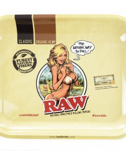 Raw Medium Bikini Girl Rolling Tray