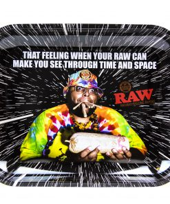 Raw 'OPPZ' Rolling Tray - Large