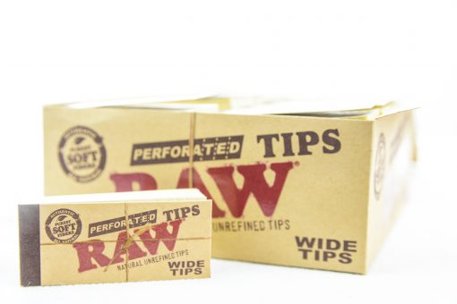 raw wide perforated tips